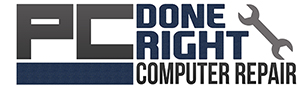 PC Done Right – Computer Repair Retina Logo